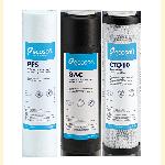 Комплект картриджей 1-2-3 улучшенный для обратного осмоса Ecosoft CHV3ECO
