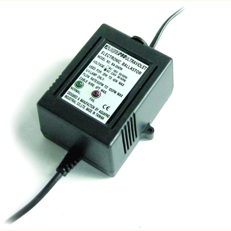 Балласт для УФ-стерилизаторов AquaPro UV-2040BA-6GPM