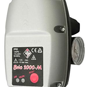 Электронное реле давления с манометром Italtecnica BRIO 2000-M