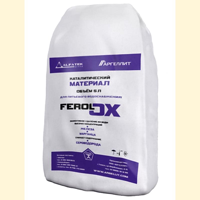 Каталитический материал для удаления железа Аргеллит Ferolox