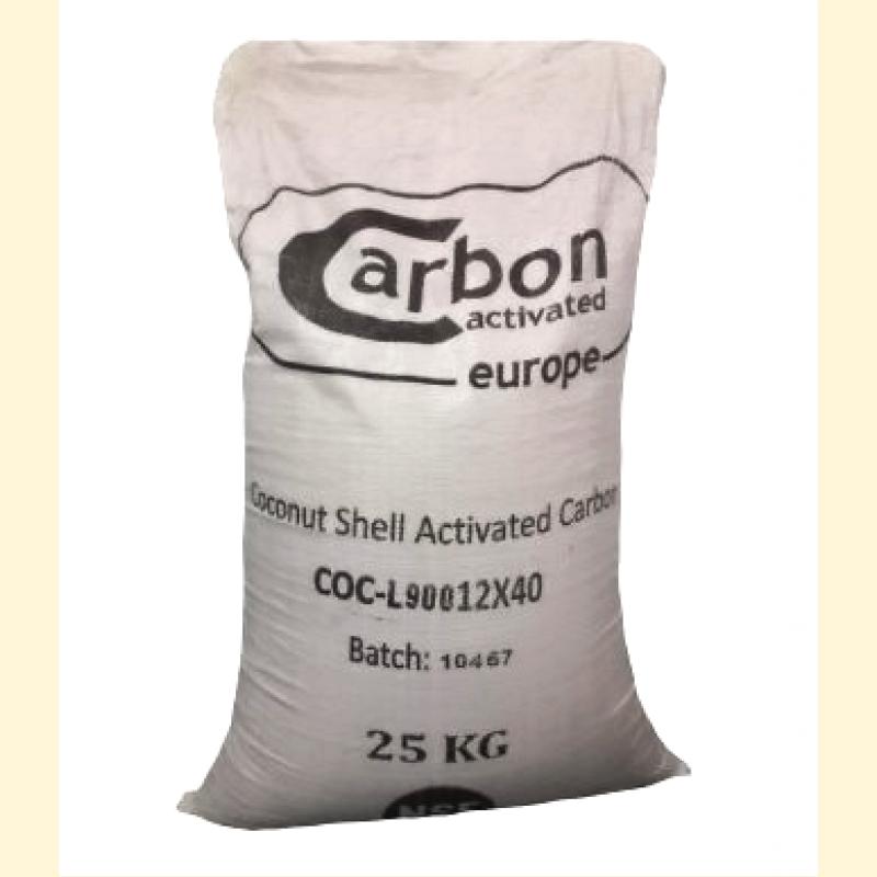 Активированный уголь Carbon Virgin Activated Carbon-COC-L900 12X40