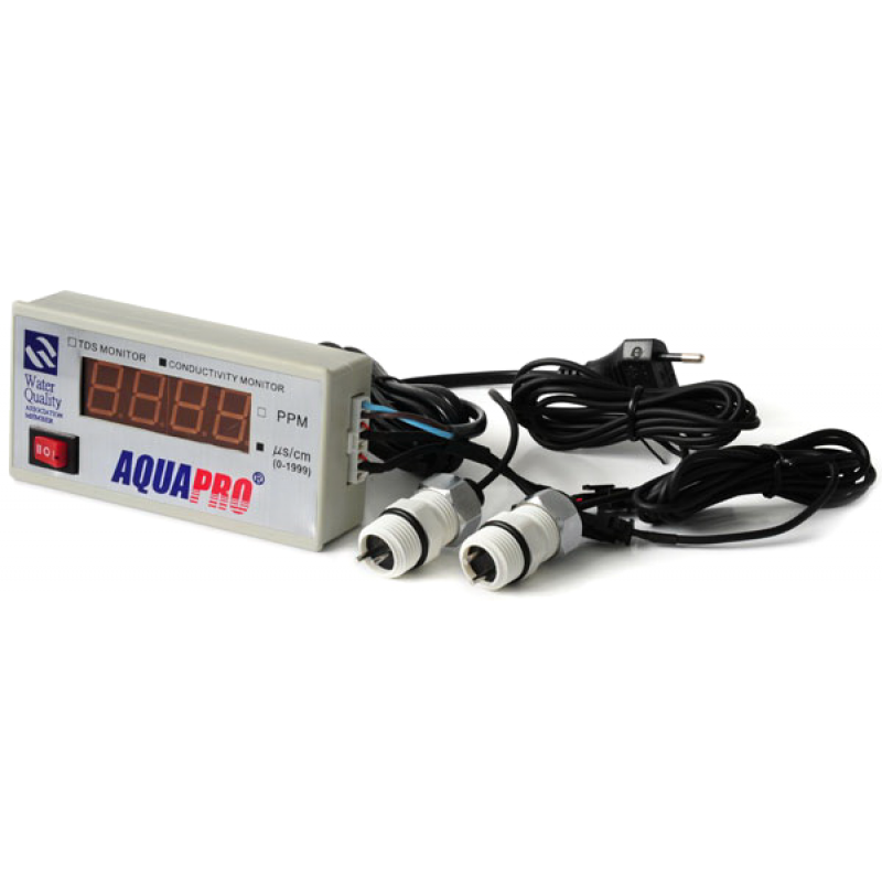 Панельный измеритель солесодержания AquaPro TDS-D2